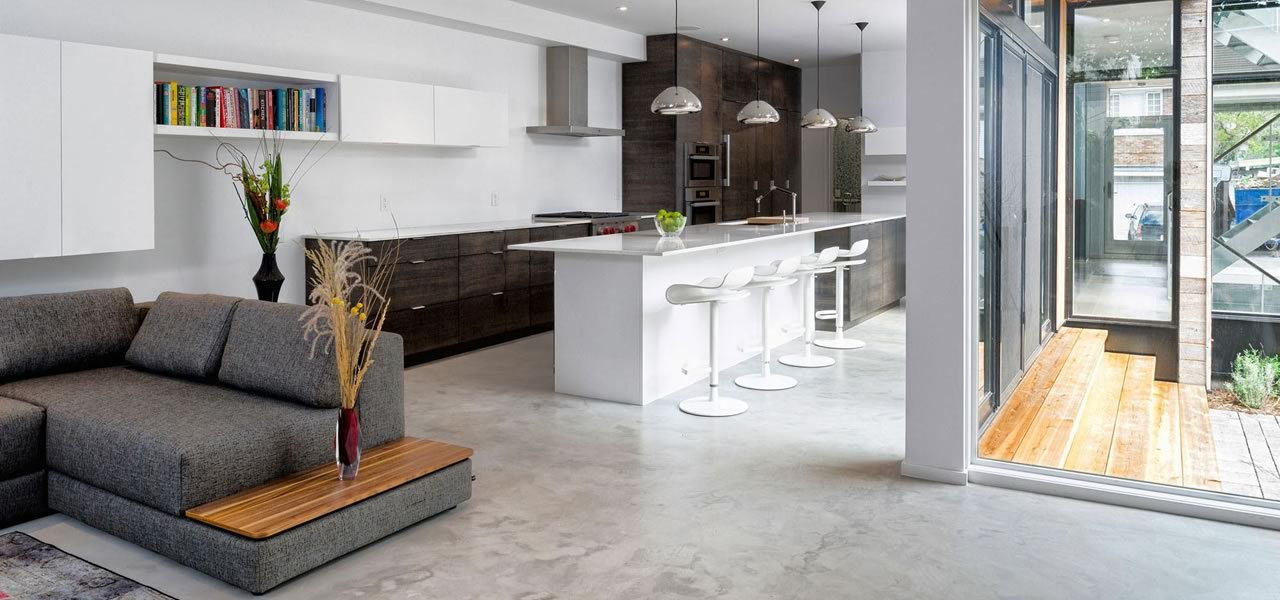 Artistic Concrete Modern Concrete Interior