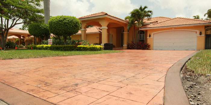 Phase 6 – Sealer is applied to protect and enhance the finished product.