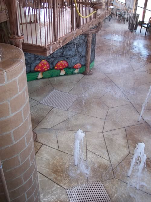 commercial concrete pavers