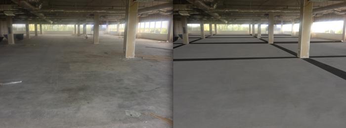 Floor of Hall