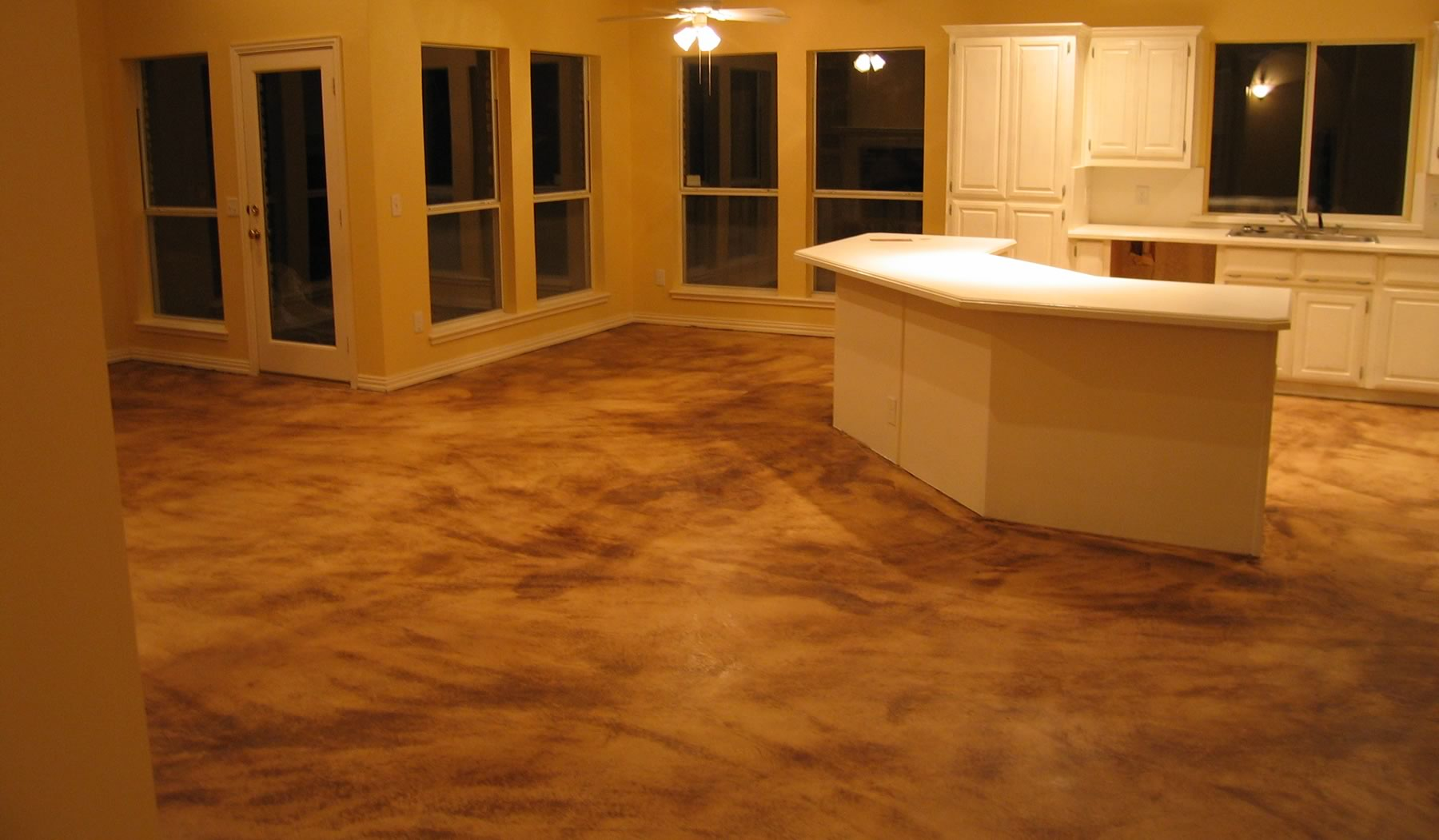 Interior concrete floor and indoor concrete paint for Indoor cement flooring
