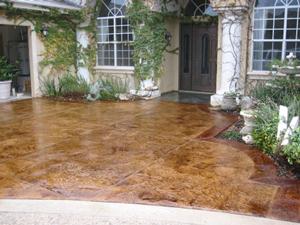 Stamped Floor