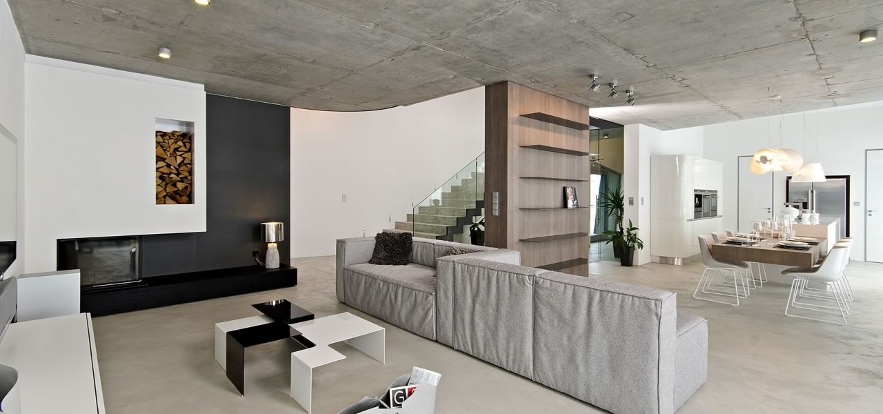 Residential Concrete and Polished Cement Floors