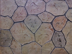 decorating concrete flooring